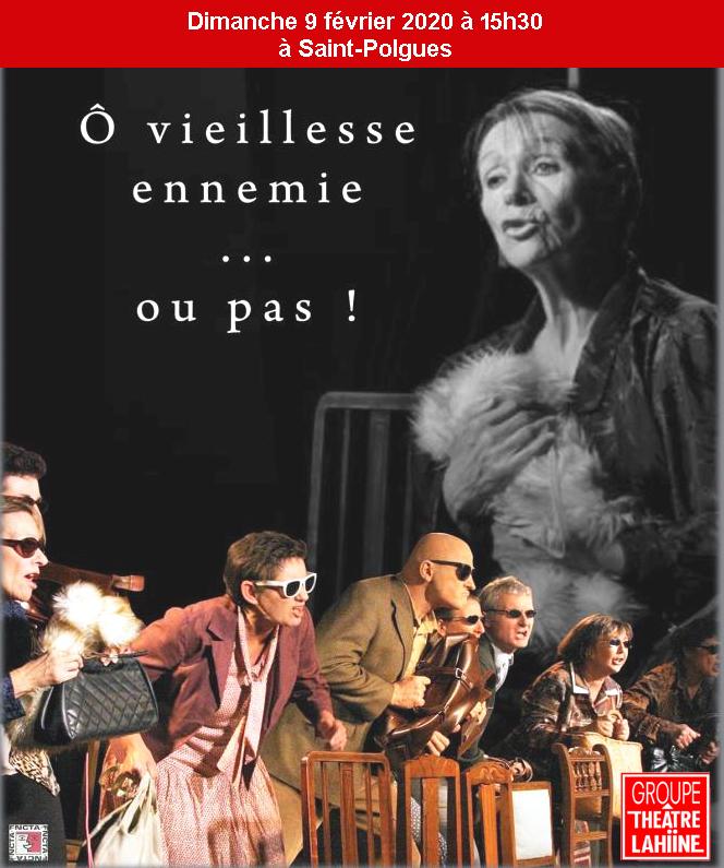 pièce de théâtre à St Polgues le 9 février à 15h30