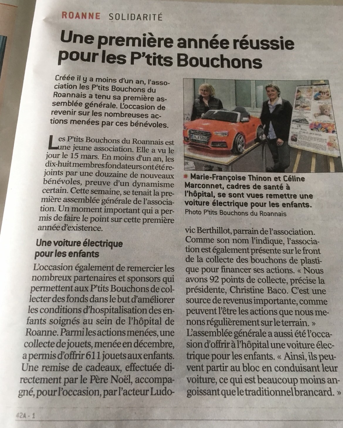 Article le progres ag